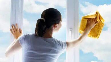 Como limpar vidros sem danificar sua superfície